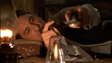 Robert de Niro pasándoselo pipa