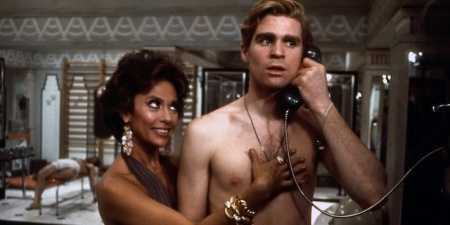 Rita Moreno and Treat Williams in The Ritz, 1976.