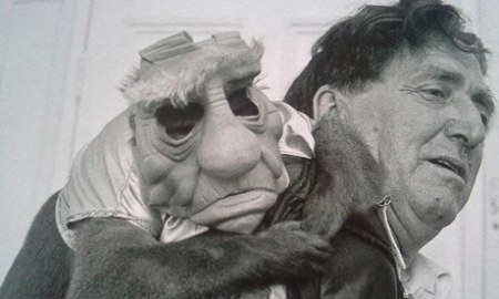 Star Wars Yoda monkey
